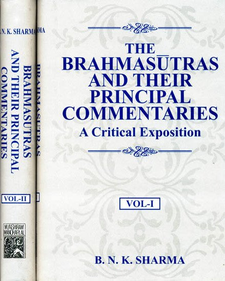 Brahma Sutras (Critical Exposition) - book cover