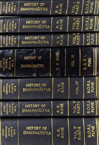 Dharmashastra book cover