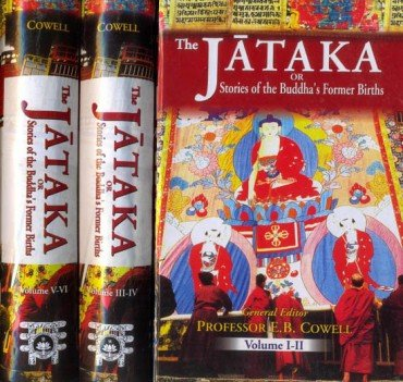 The Jataka tales [English], Volume 1-6 - book cover