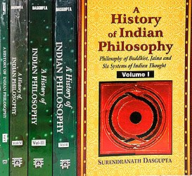 A History of Indian Philosophy Volume 1 - book cover