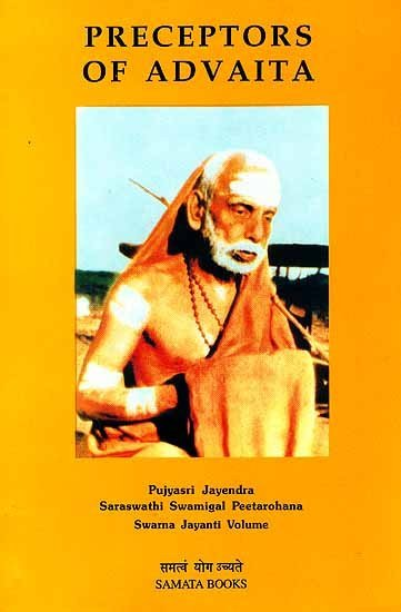 Preceptors of Advaita - book cover