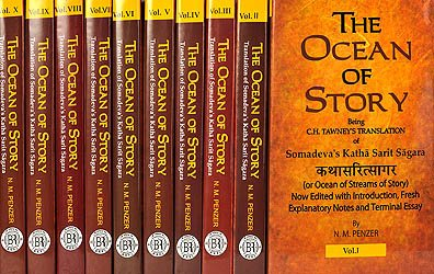 Kathasaritsagara (the Ocean of Story) - book cover