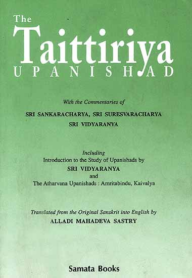 The Taittiriya Upanishad - book cover