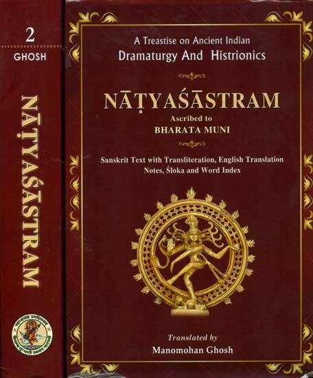 The Natyashastra - book cover