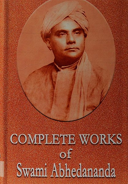 Complete works of Swami Abhedananda - book cover