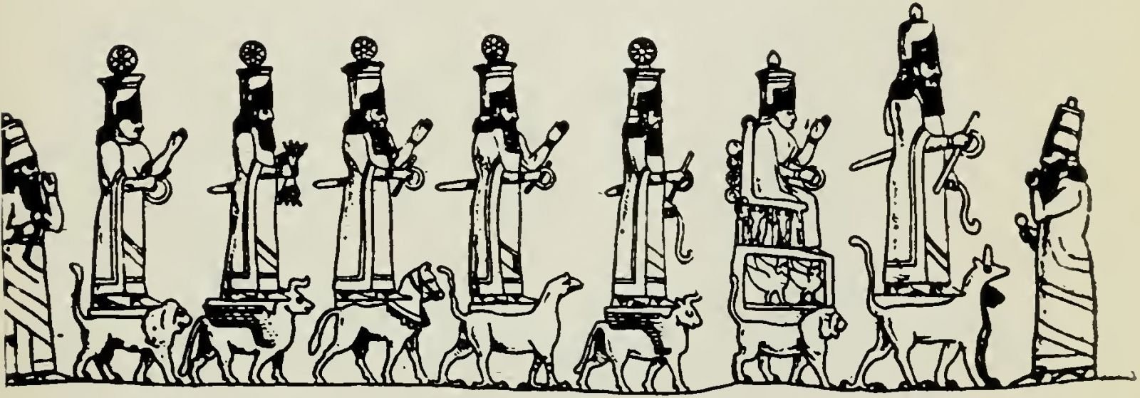 Fig. 3. Procession of Gods