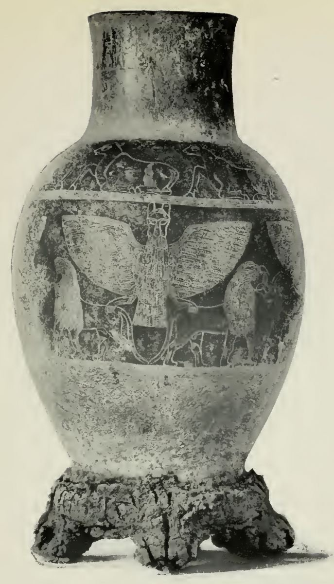 Fig. 1. Silver Vase of Entemena Patesi of Lagash (c. 2850 B. C.)